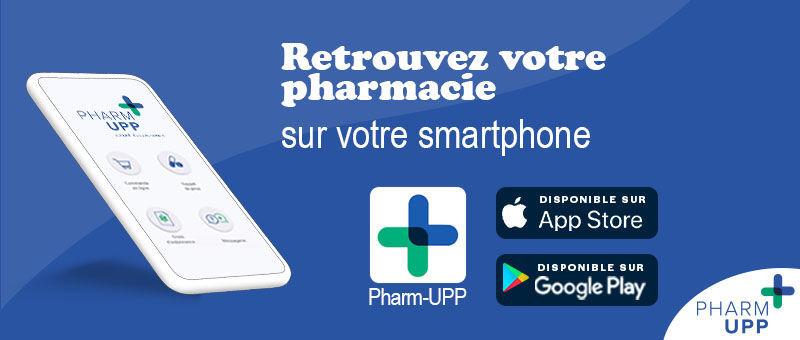 pharmacie médicaments application appli apple android store commande en ligne