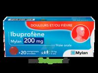 Ibuprofene Mylan 200 Mg, Comprimé Enrobé à COLLONGES-SOUS-SALEVE