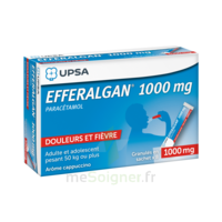 Efferalgan 1g Cappuccino Granules 8 Sachets à COLLONGES-SOUS-SALEVE