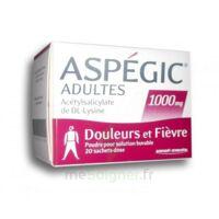 Aspegic Adultes 1000 Mg, Poudre Pour Solution Buvable En Sachet-dose 20 à COLLONGES-SOUS-SALEVE