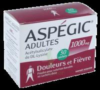 Aspegic Adultes 1000 Mg, Poudre Pour Solution Buvable En Sachet-dose 30 à COLLONGES-SOUS-SALEVE