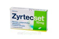 Zyrtecset 10 Mg, Comprimé Pelliculé Sécable à COLLONGES-SOUS-SALEVE