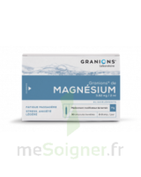 Granions De Magnesium 3,82 Mg/2 Ml S Buv 30amp/2ml à COLLONGES-SOUS-SALEVE