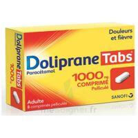 Dolipranetabs 1000 Mg Comprimés Pelliculés Plq/8 à COLLONGES-SOUS-SALEVE