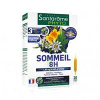 Santarome Bio Sommeil 8h Solution Buvable 20 Ampoules/10ml à COLLONGES-SOUS-SALEVE