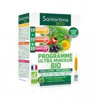 Santarome Bio Programme Ultra Minceur Solution Buvable 30 Ampoules/10ml à COLLONGES-SOUS-SALEVE