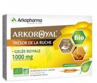 Arkoroyal Gelée Royale Bio 1000 Mg Solution Buvable 20 Ampoules/10ml à COLLONGES-SOUS-SALEVE