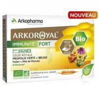 Arkoroyal Immunité Fort Solution Buvable 20 Ampoules/10ml à COLLONGES-SOUS-SALEVE