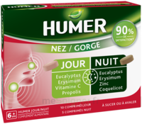 Humer Nez/gorge Jour&nuit 15 Comprimés à COLLONGES-SOUS-SALEVE