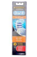 Brossette De Rechange Oral-b Trizone X 3 à COLLONGES-SOUS-SALEVE