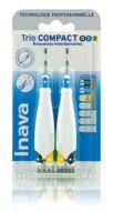Inava Brossettes Tri Compact étroit  012 Noir 0,6mm/ Bleu 0,8mm/ Jaune 1mm à COLLONGES-SOUS-SALEVE