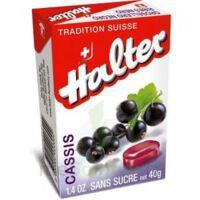 Halter Bonbon Sans Sucre Cassis 40g à COLLONGES-SOUS-SALEVE