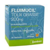 Fluimucil Expectorant Acetylcysteine 200 Mg Sans Sucre, Granulés Pour Solution Buvable En Sachet édulcorés à L'aspartam Et Au Sorbitol à COLLONGES-SOUS-SALEVE