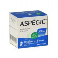 Aspegic 500 Mg, Poudre Pour Solution Buvable En Sachet-dose 30 à COLLONGES-SOUS-SALEVE