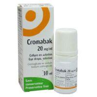 Cromabak 20 Mg/ml, Collyre En Solution à COLLONGES-SOUS-SALEVE