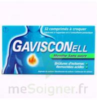 Gavisconell Coprimés à Croquer Sans Sucre Menthe édulcoré à L'aspartam Et à L'acésulfame Potas Plq/24 à COLLONGES-SOUS-SALEVE