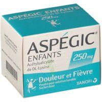 Aspegic Enfants 250, Poudre Pour Solution Buvable En Sachet-dose à COLLONGES-SOUS-SALEVE
