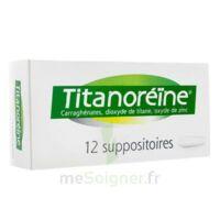 Titanoreine Suppositoires B/12 à COLLONGES-SOUS-SALEVE
