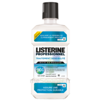 Listerine Professionnel Bain Bouche Traitement Sensibilité 500ml à COLLONGES-SOUS-SALEVE