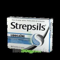 Strepsils Lidocaïne Pastilles Plq/24 à COLLONGES-SOUS-SALEVE