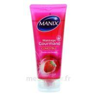 Manix Gel Comestible De Massage Fraise 200ml à COLLONGES-SOUS-SALEVE