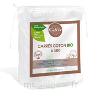 Gifrer Carré Coton Bio Sachet/150 à COLLONGES-SOUS-SALEVE
