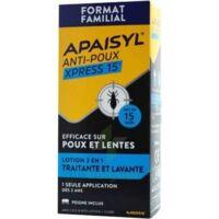 Apaisyl Anti-poux Xpress Lotion Antipoux Et Lente 300ml à COLLONGES-SOUS-SALEVE