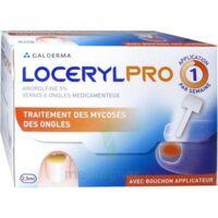 Locerylpro 5 % V Ongles Médicamenteux Fl/2,5ml+spatule+30 Limes+lingettes à COLLONGES-SOUS-SALEVE