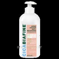 Cicabiafine Crème Douche Anti-irritations Bouteille Fl Pompe/400ml à COLLONGES-SOUS-SALEVE
