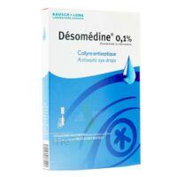 Desomedine 0,1 % Collyre Sol 10fl/0,6ml à COLLONGES-SOUS-SALEVE