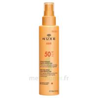 Spray Solaire Visage Et Corps Haute Protection Spf 50 Nuxe Sun150ml à COLLONGES-SOUS-SALEVE