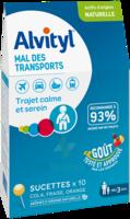 Alvityl Sucette Mal Des Transports B/10 à COLLONGES-SOUS-SALEVE