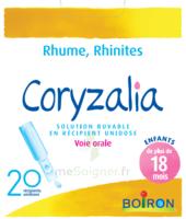Boiron Coryzalia Solution Buvable Unidose B/20 à COLLONGES-SOUS-SALEVE