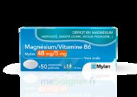 Magnesium/vitamine B6 Mylan 48 Mg/5 Mg, Comprimé Pelliculé à COLLONGES-SOUS-SALEVE