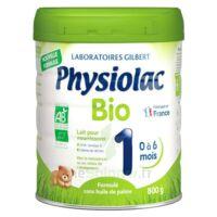 Physiolac Bio 1 Lait En Poudre B/800g à COLLONGES-SOUS-SALEVE