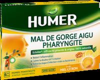 Humer Pharyngite Pastille Mal De Gorge Miel Citron B/20 à COLLONGES-SOUS-SALEVE